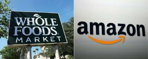 Amazon said Whole Foods, the natural foods chain acquired this year, provided $1.3 billion in revenue and $21 million in operati