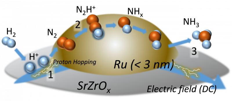 Ammonia on-demand? Alternative production method for a sustainable future