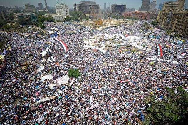 Analysis of 14 million Arab Spring tweets reveals normal people drive huge movements
