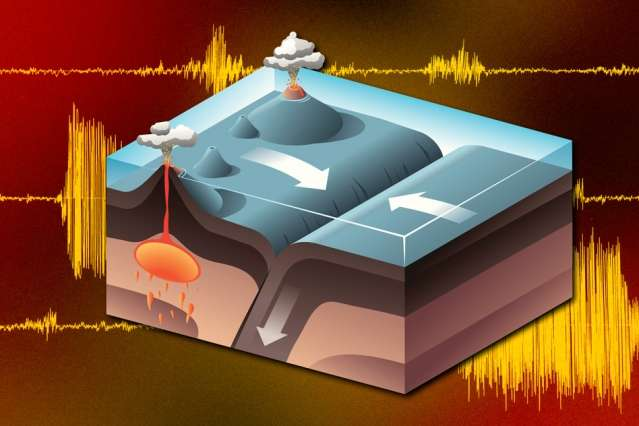 """Ancient Earth's hot interior created """"graveyard"""" of continental slabs"""
