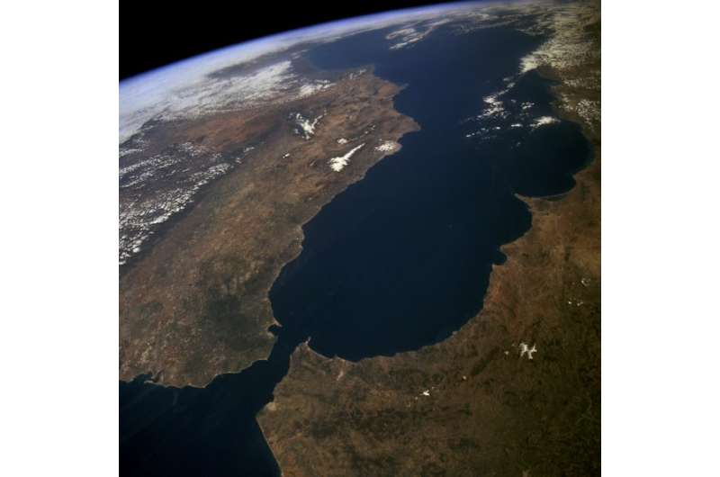 Andalusian scientists reconstruct what the Gibraltar Arc was like 9 million years ago