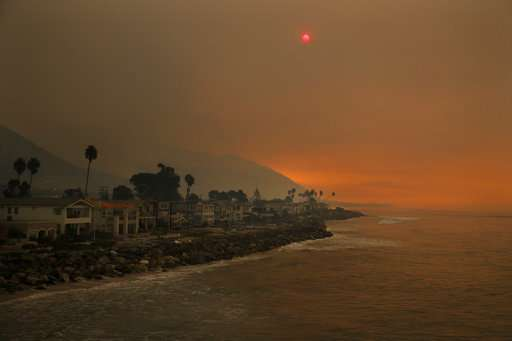 Another wildfire joins the siege across Southern California