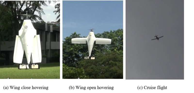 A novel hybrid UAV that may change the way people operate drones