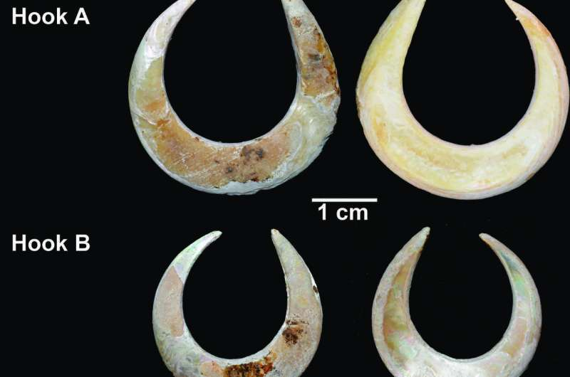 ANU archaeologist finds world's oldest funereal fish hooks