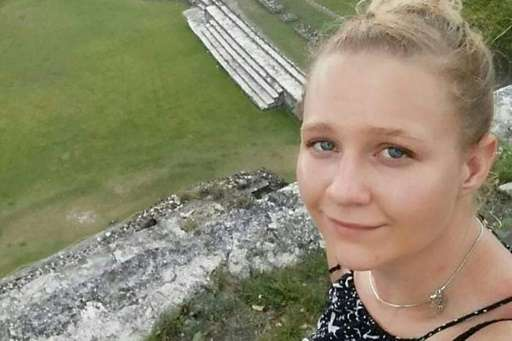 An undated social media picture of Reality Leigh Winner, who is accused of giving top-secret documents to a news organization