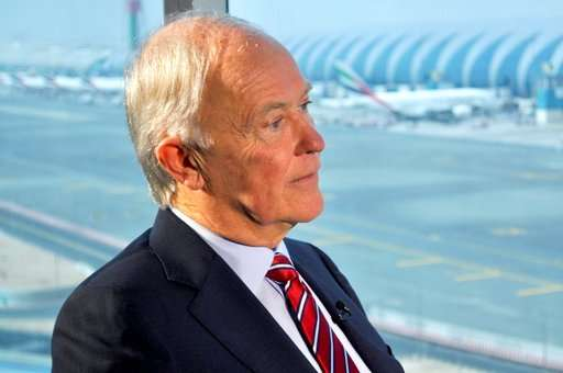 AP Interview: Emirates defends security as laptop ban looms