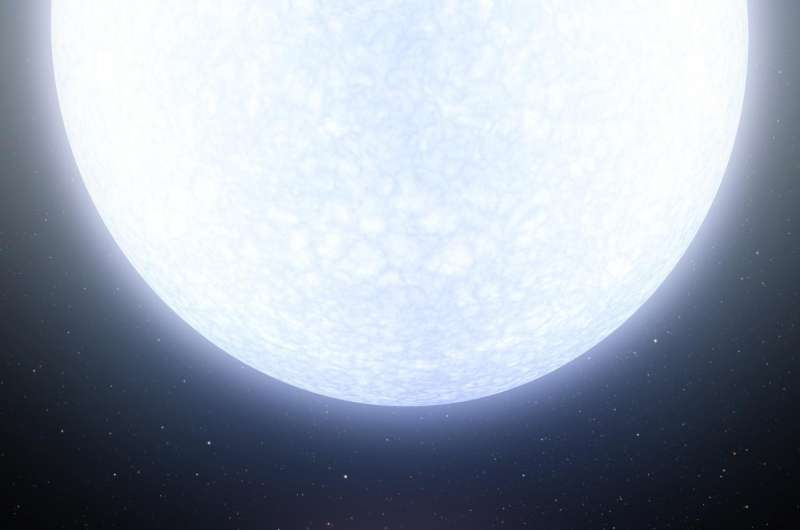 A planet hotter than most stars