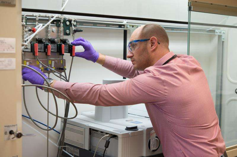 Argonne scientists make vanadium into a useful catalyst for hydrogenation