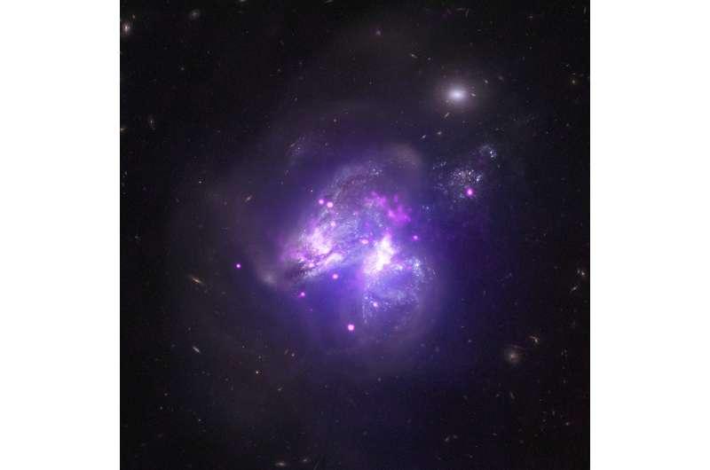 Arp 299: Galactic Goulash