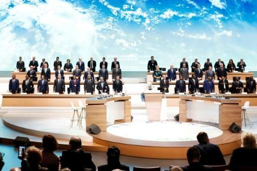 """A series of initiatives were unveiled at the """"One Planet Summit"""" held in Paris"""