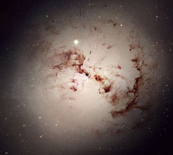 Astronomers investigate a mysterious isolated star cluster complex