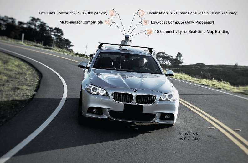 Beckoning self-driving car developers seeking machine readable maps that can be crowdsourced