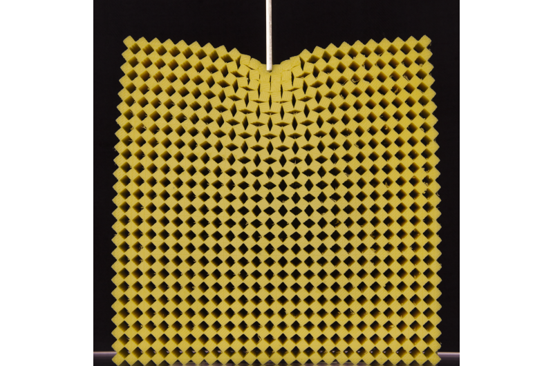 'Bigger is different' - the unusual physics of mechanical metamaterials exposed