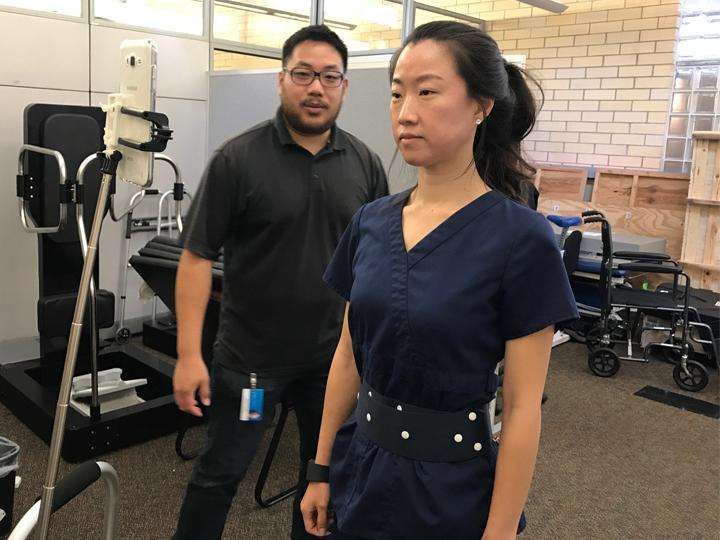 Biofeedback technology helping improve balance in Parkinson's patients