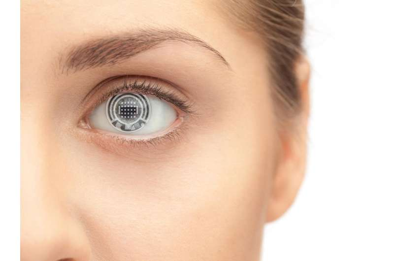 Bio-sensing contact lens could someday measure blood glucose, other bodily functions