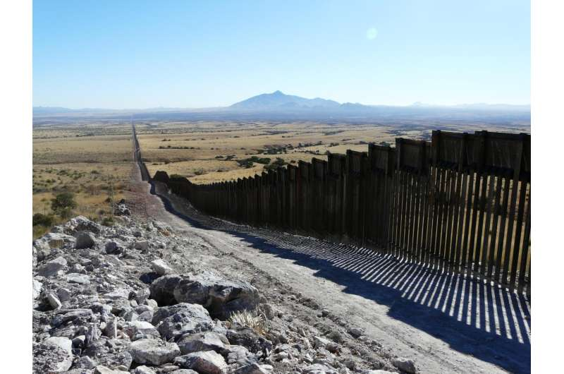 Border walls may pose big challenges to biodiversity -- but smaller ones to humans