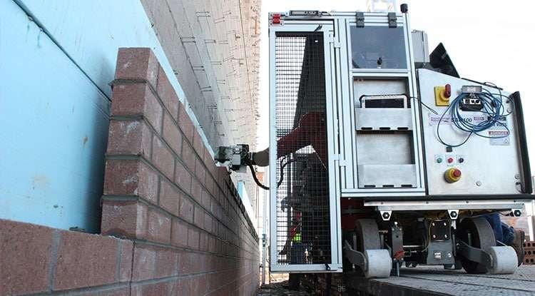 Bricklaying robot can make ergonomic, economic impact on construction sites