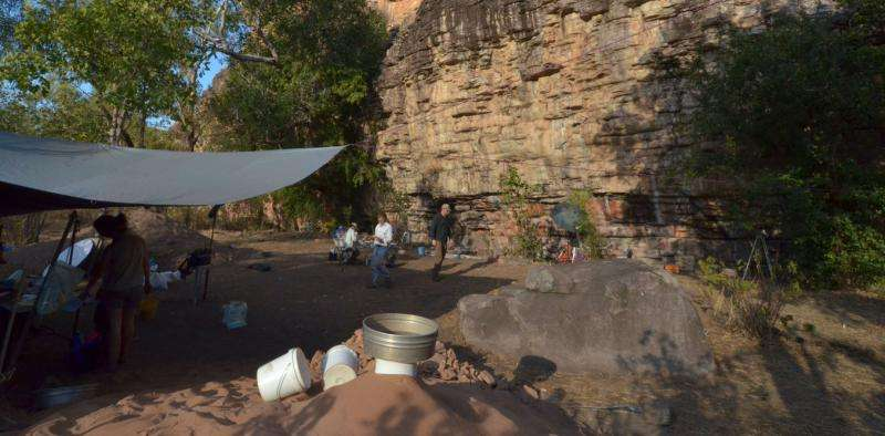 Buried tools and pigments tell a new history of humans in Australia for 65,000years