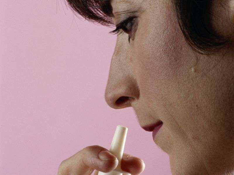 Can experimental nasal spray treat common heart problem?