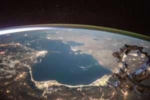 Caspian Sea evaporating as temperatures rise, study finds