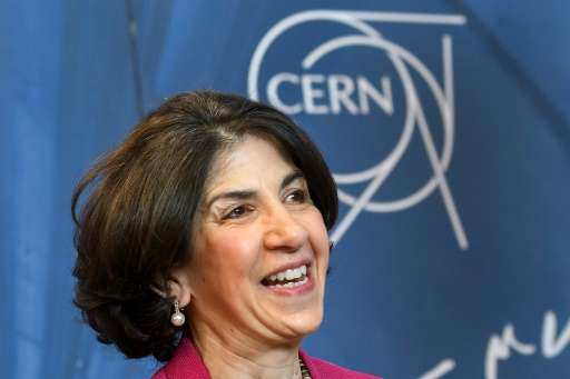"""CERN Director General Fabiola Gianotti has hailed the start of an """"ambitious upgrade programme,"""" dubbing the new Linac"""