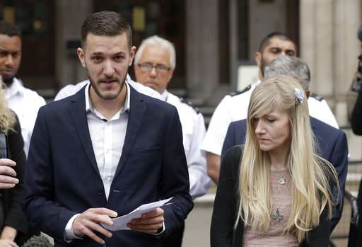 Charlie Gard parents drop legal fight, agree to let him die