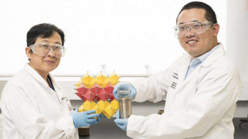 Chemists can rapidly purify wastewater with sunlight