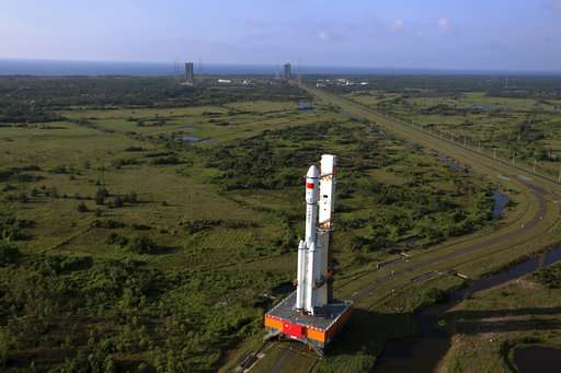 China launches its 1st unmanned cargo spacecraft