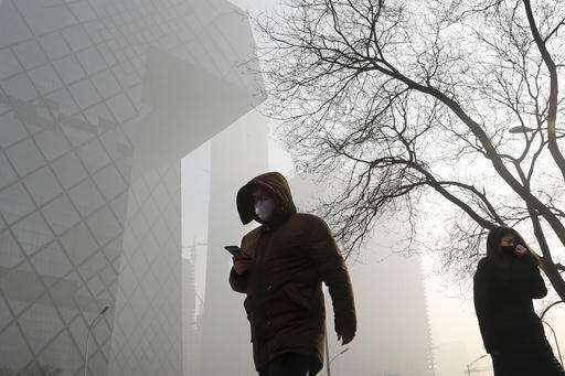 China says some factories have violated anti-smog measures