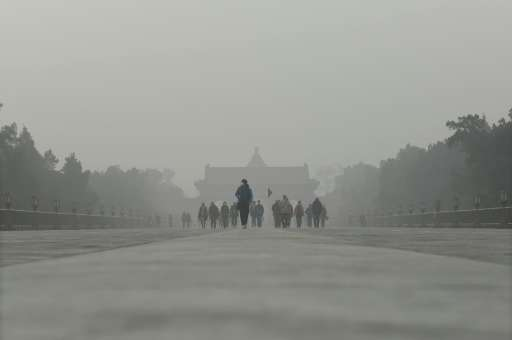 """China's Meteorological Administration has told local bureaus to stop issuing smog alerts, but can issue alerts for """"fog&quo"""