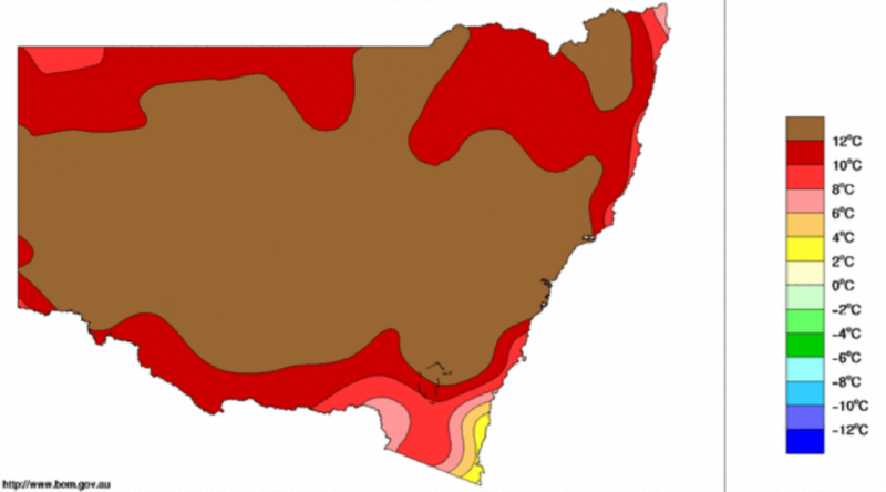 Climate change doubled the likelihood of the Australian heatwave