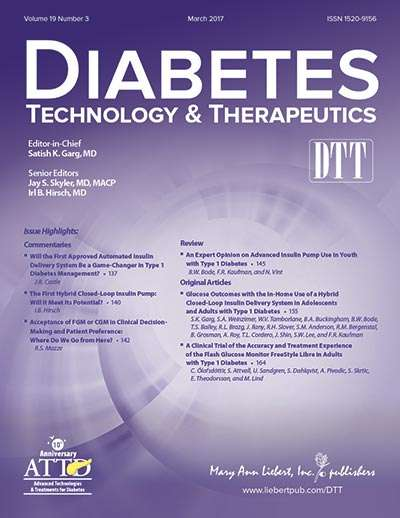 Clinical efficacy & future development of continuous glucose monitoring highlighted in DTT