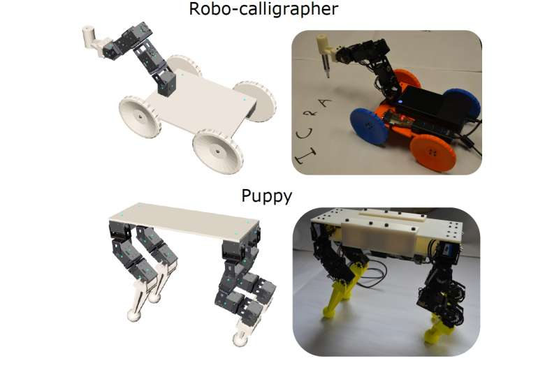 CMU's interactive tool helps novices and experts make custom robots