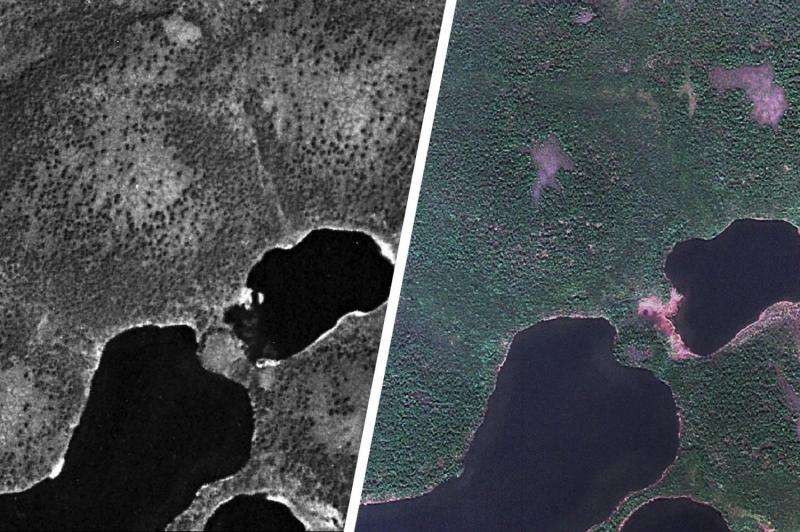 Cold war-era spy satellite images reveal possible effects of climate change