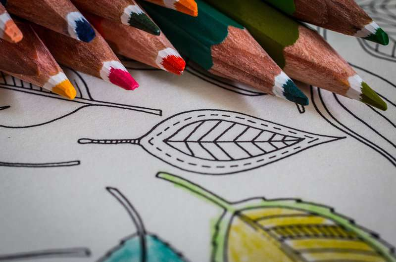 Coloring books make you feel better, but real art therapy much more potent