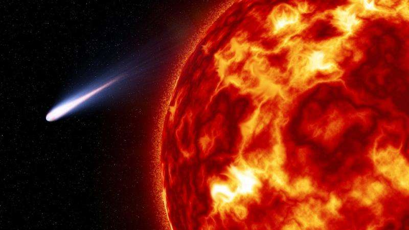 Comets contributed to Earth's atmosphere, says study of 3 billion-year-old minerals