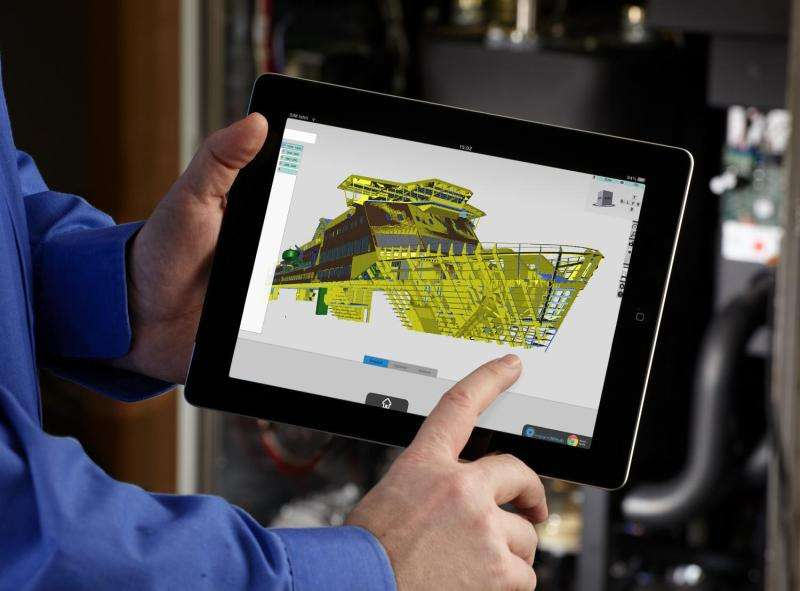 Complex 3-D data on all devices
