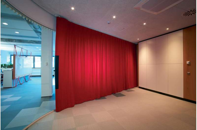 Curtains for privacy and quiet