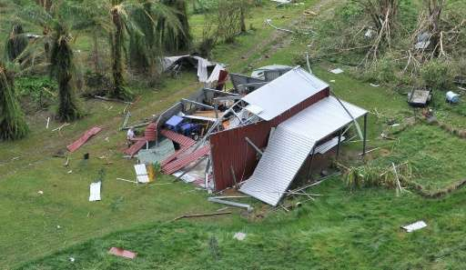 Cyclone Debbie is forecast to be the most powerful storm to hit Queensland since Cyclone Yasi hit in 2011, damaging houses and c
