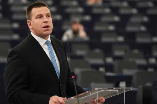 Data security is essential for the functioning of the country's services, says Estonia's Prime Minister Juri Ratas
