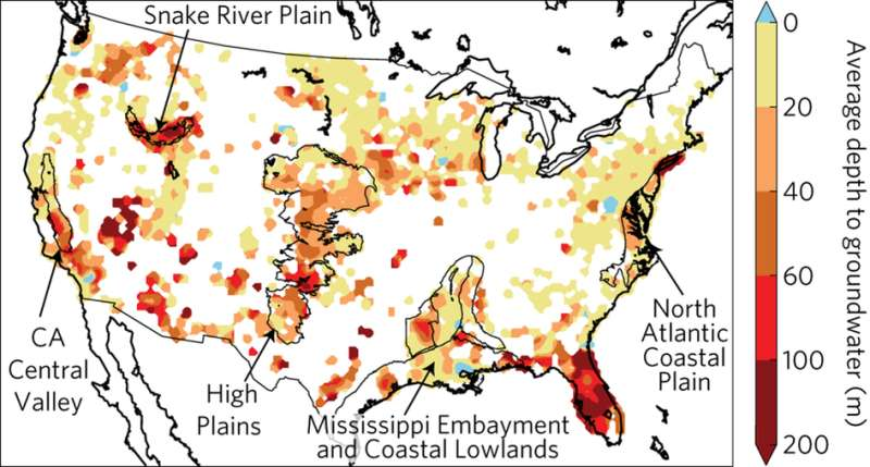Deep groundwater aquifers respond rapidly to climate variability