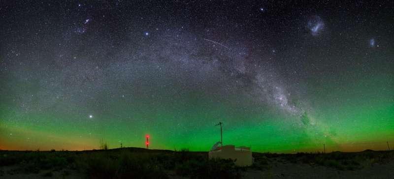 Detecting cosmic rays from a galaxy far, far away