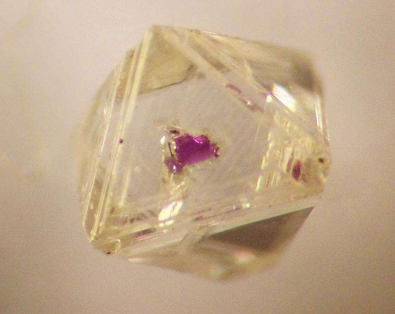 Diamonds show Earth still capable of 'superhot' surprises