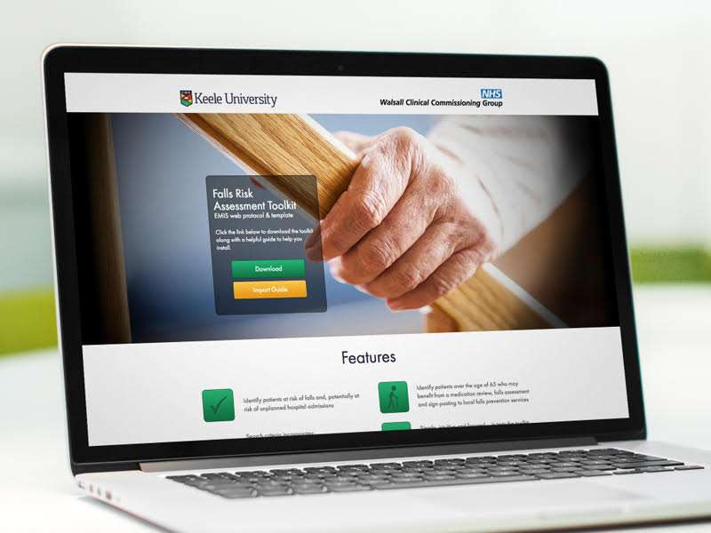 Digital toolkit aims to prevent falls amongst the elderly