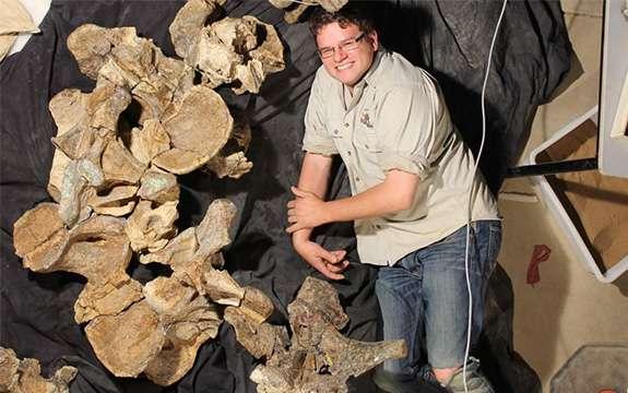 Dinosaur find in outback Queensland