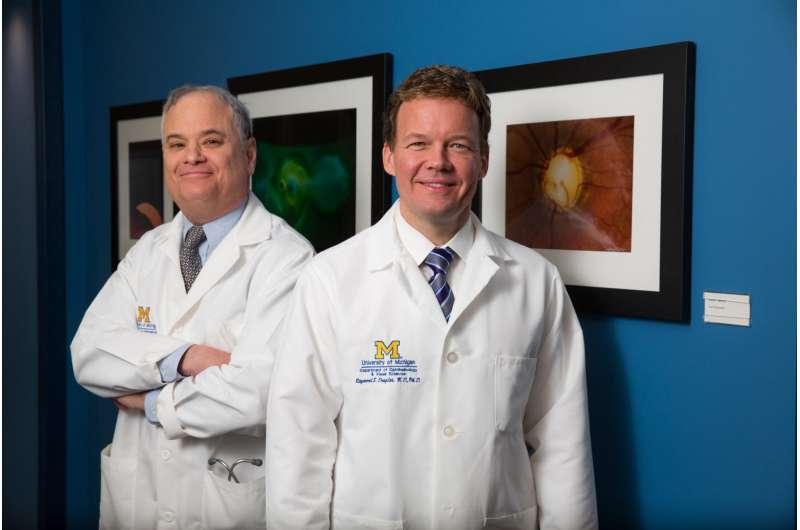 Disfiguring eye symptoms diminish in Graves' eye disease drug trial