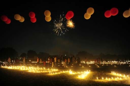 Diwali, the Festival of Lights, sees fireworks and firecrackers let off around vast country