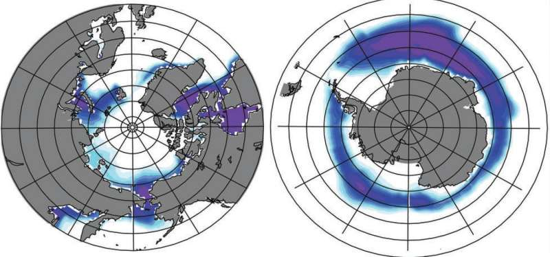 Earth's orbital variations and sea ice synch glacial periods
