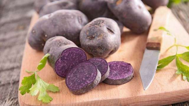 Eat a purple potato if you know what's good for you