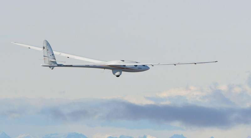 El Calafate, Argentina, is scene for glider reaching new highs